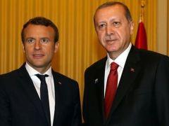 Macron: Görüşmede tutuklu gazeteciler konusunu ele alacağım