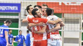 2018 Erkekler Balkan Kupası Şampiyonu!